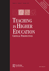 Full article: University lecturers' experiences of teaching in ...