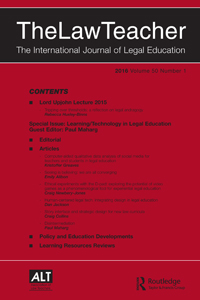 Full Article Human Centered Legal Tech Integrating Design In Legal Education
