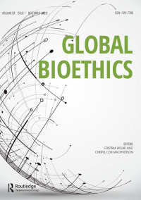 Global Bioethics cover