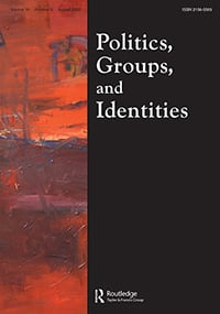 Politics Groups and Identities cover