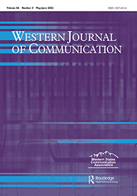 Western Journal of Communication cover