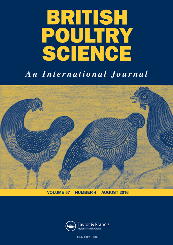 British Poultry Science: Vol 57, No 4