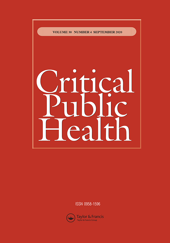 Critical Public Health: Vol 30, No 4