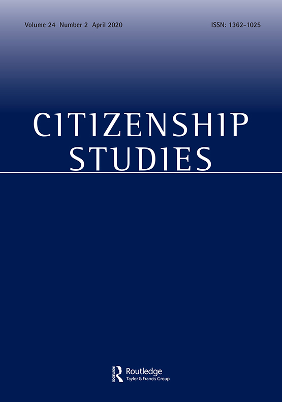 Jurnal ilmu sosial - Citizenship Studies