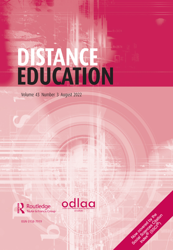 Introducing The R2d2 Model Online Learning For The Diverse Learners Of This World Distance Education Vol 27 No 2