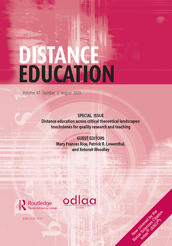 Distance Education Vol 41 No 3