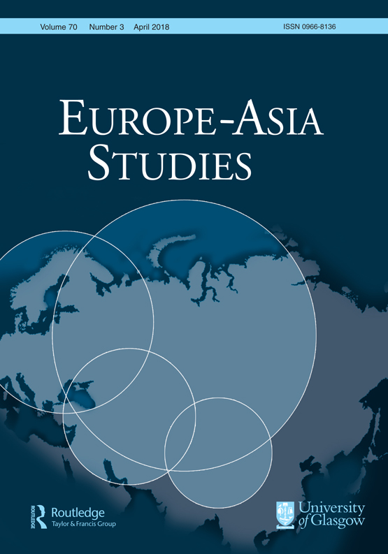Europe-Asia Studies: Vol 70, No 3