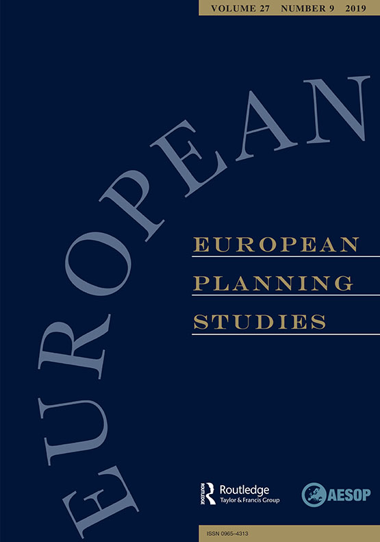 European Planning Studies: Vol 27, No 9