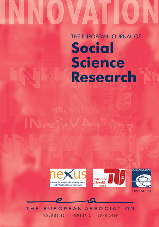 Full Article Social Cohesion Revisited A New Definition And How To Characterize It