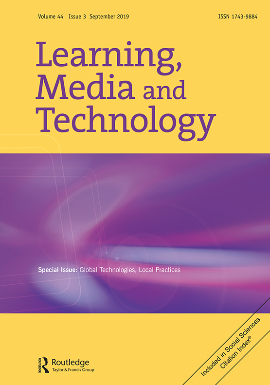 Learning, Media and Technology: Vol 44, No 3