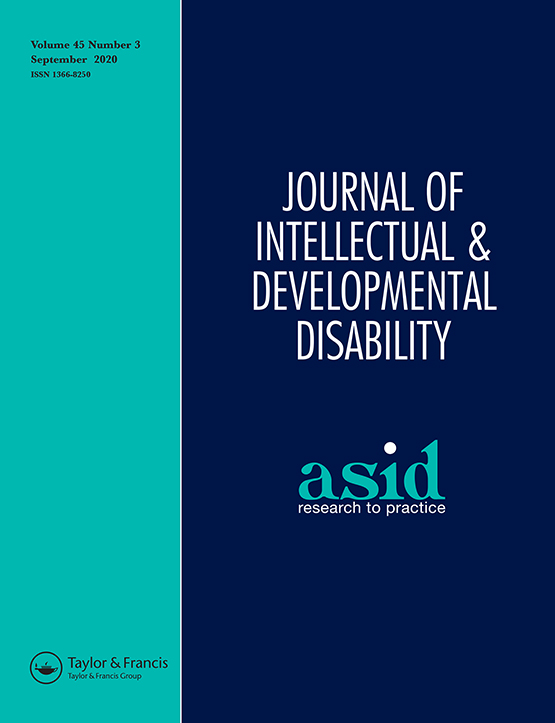 Full Article Engaging With National Disability Insurance Scheme Planning Perspectives Of Parents Of An Adult With Intellectual Disability