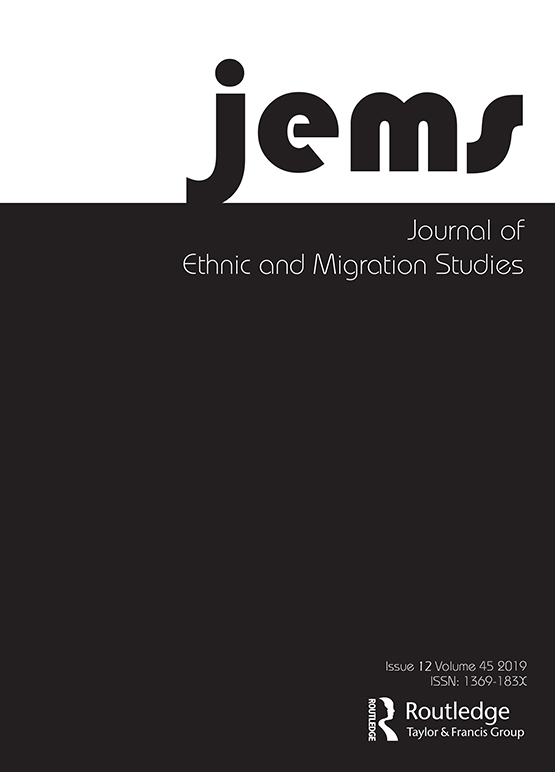 Journal of Ethnic and Migration Studies: Vol 45, No 12