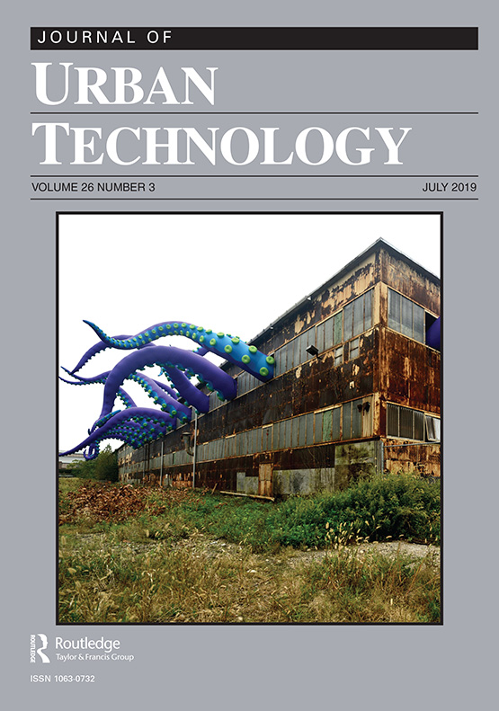 Journal of Urban Technology: Vol 26, No 3