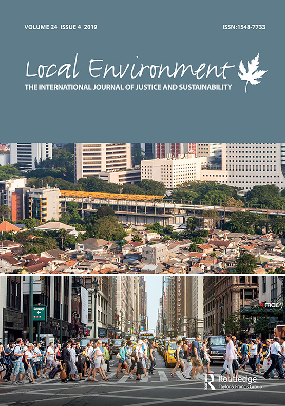 Local Environment and the UN Sustainable Development Goals
