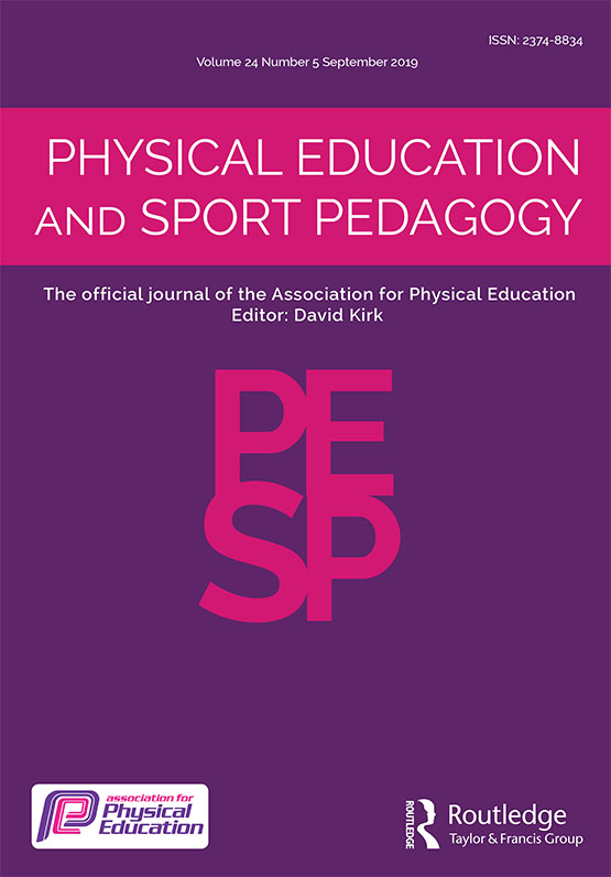 Physical Education and Sport Pedagogy: Vol 24, No 5