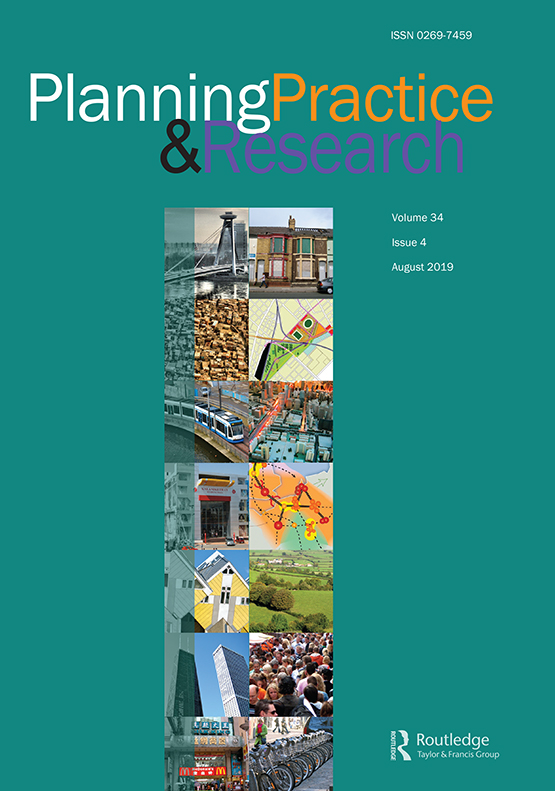 Planning Practice & Research: Vol 34, No 4