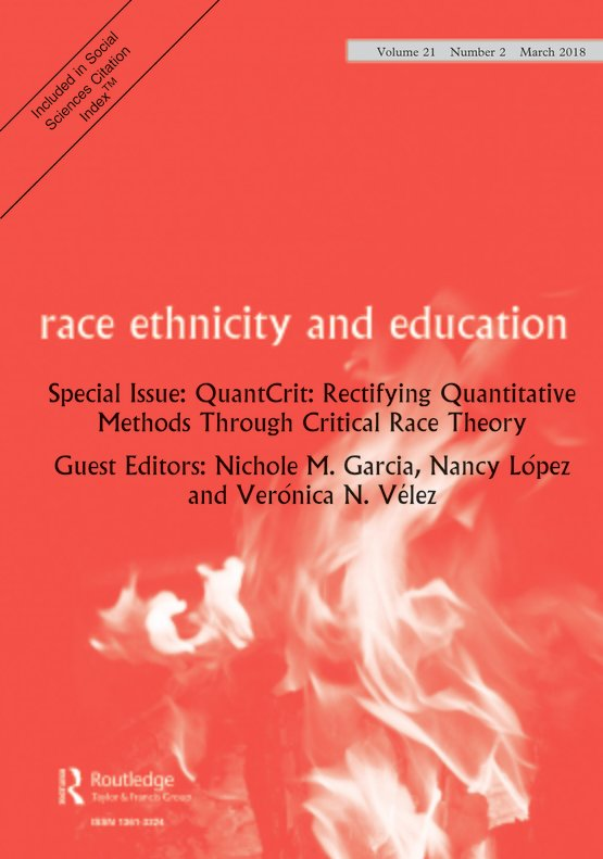 Full Article Quantcrit Education Policy Big Data And Principles For A Critical Race Theory Of Statistics