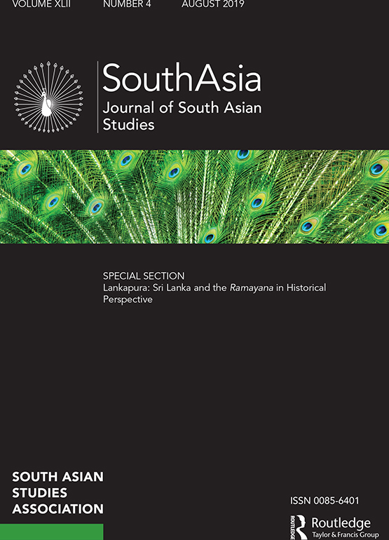 South Asia: Journal of South Asian Studies: Vol 42, No 4