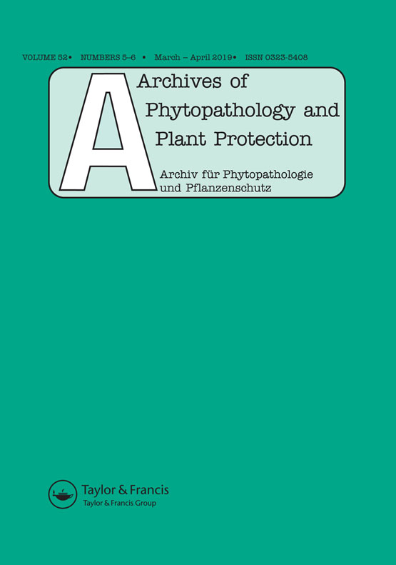 Archives of Phytopathology and Plant Protection: Vol 52, No 5-6