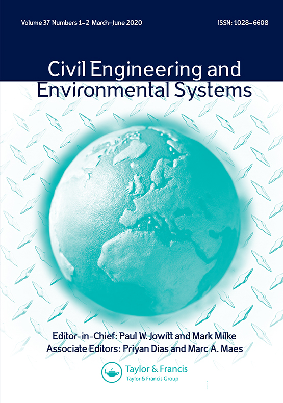 Civil Engineering And Environmental Systems Vol 37 No 1 2