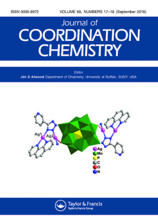 Journal of Coordination Chemistry: Vol 69, No 18