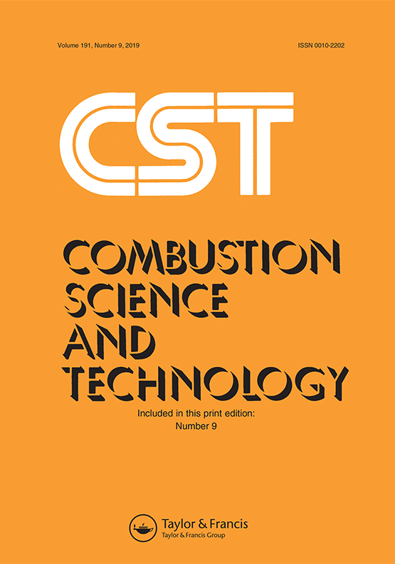 Combustion Science and Technology: Vol 191, No 9