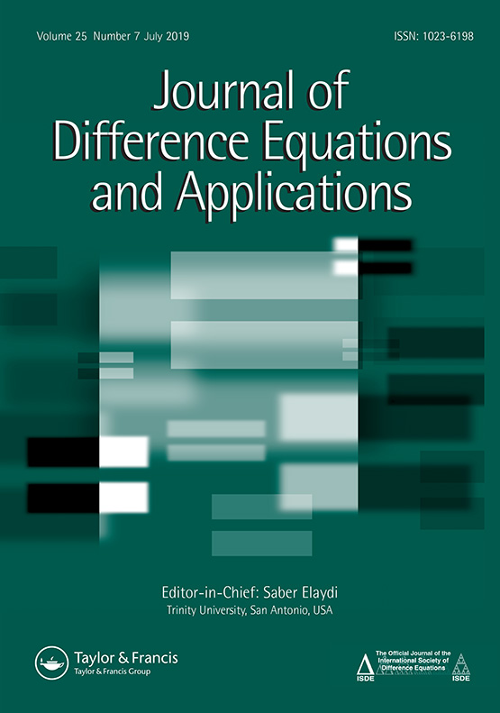 Journal of Difference Equations and Applications: Vol 25, No 7