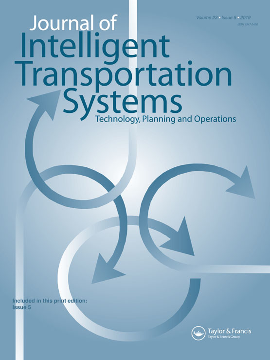 Journal of Intelligent Transportation Systems: Vol 23, No 5