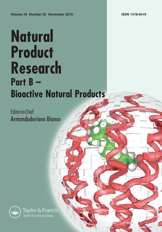 Natural Product Research: Vol 33, No 22