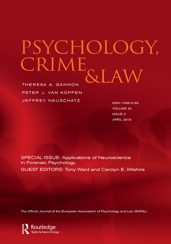 Affective Neuroscience A Primer With Implications For Forensic Psychology Psychology Crime Law Vol 24 No 3