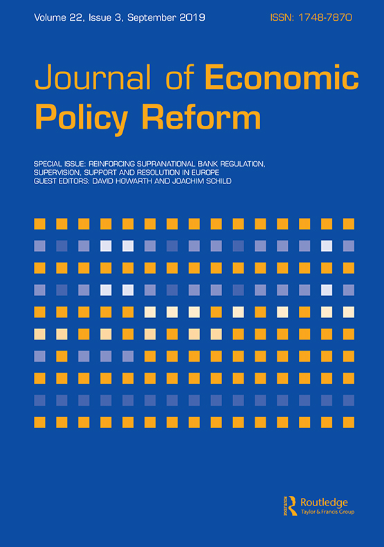Journal of Economic Policy Reform: Vol 22, No 3