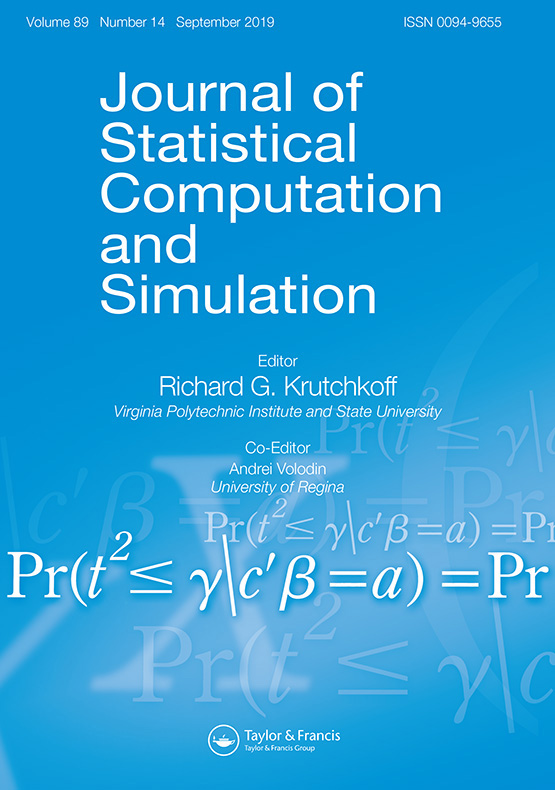 Journal of Statistical Computation and Simulation: Vol 89, No 14