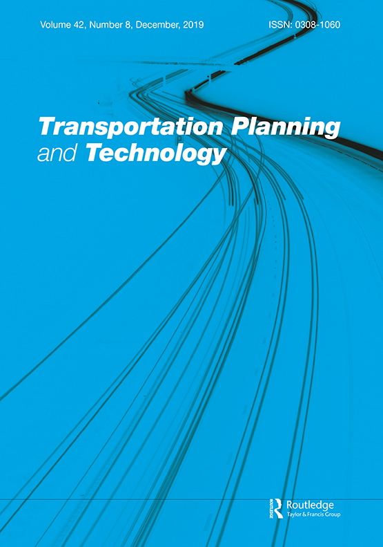 Transportation Planning and Technology: Vol 42, No 8