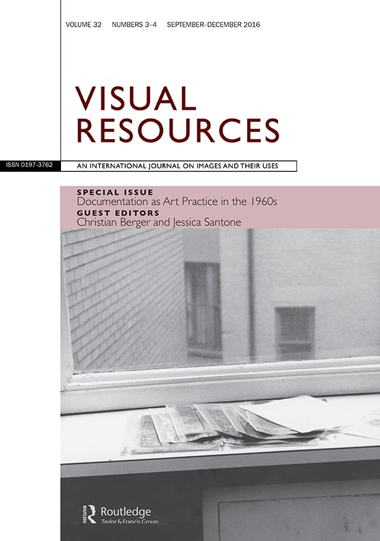 Full Article Documentation As Art Practice In The 1960s