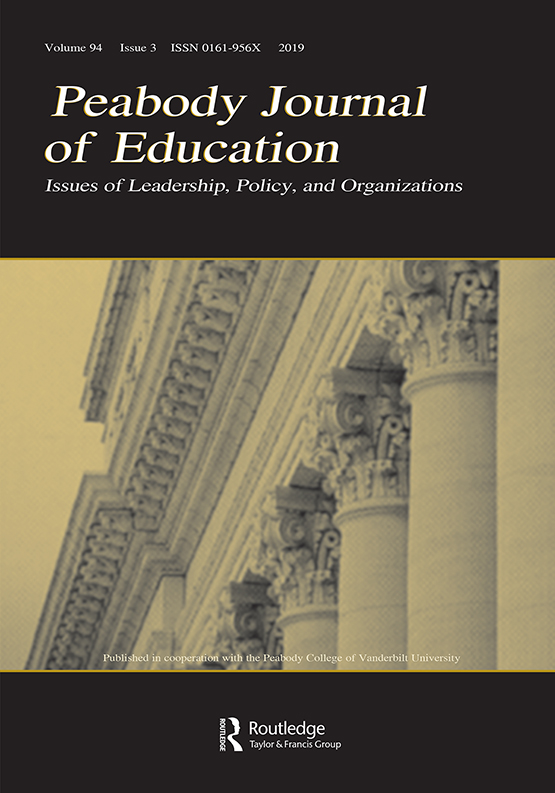 Peabody Journal of Education: Vol 94, No 3