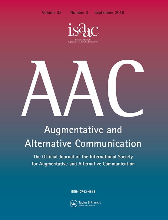 Augmentative and Alternative Communication: Vol 35, No 3