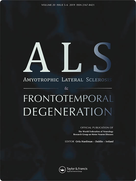Amyotrophic Lateral Sclerosis and Frontotemporal
