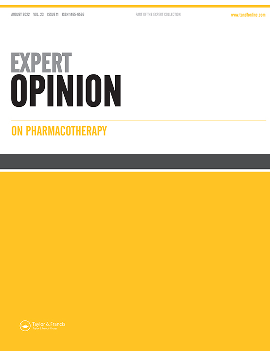 Expert Opinion on Pharmacotherapy: Vol 20, No 12