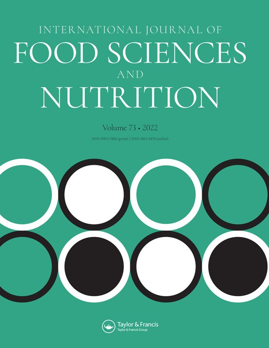 Latest Articles From International Journal Of Food Sciences And Nutrition