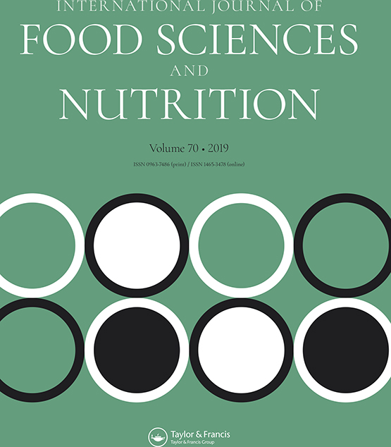 International Journal of Food Sciences and Nutrition: Vol 70, No 6