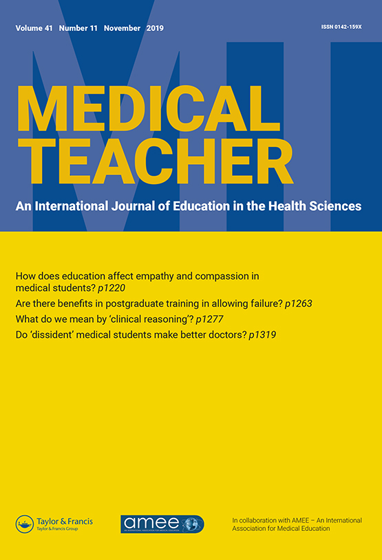 Priming Healthcare Students On The Importance Of Non Technical Skills In Healthcare How To Set Up A Medical Escape Room Game Experience Medical Teacher Vol 41 No 11