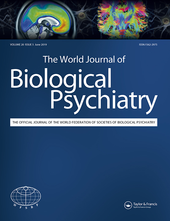 The World Journal of Biological Psychiatry: Vol 20, No 5