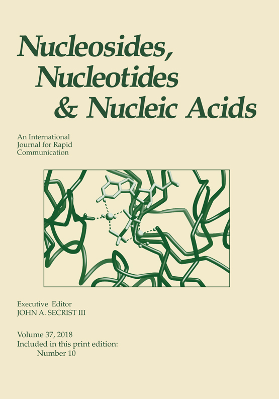 Nucleosides, Nucleotides and Nucleic Acids: Vol 22, No 5-8