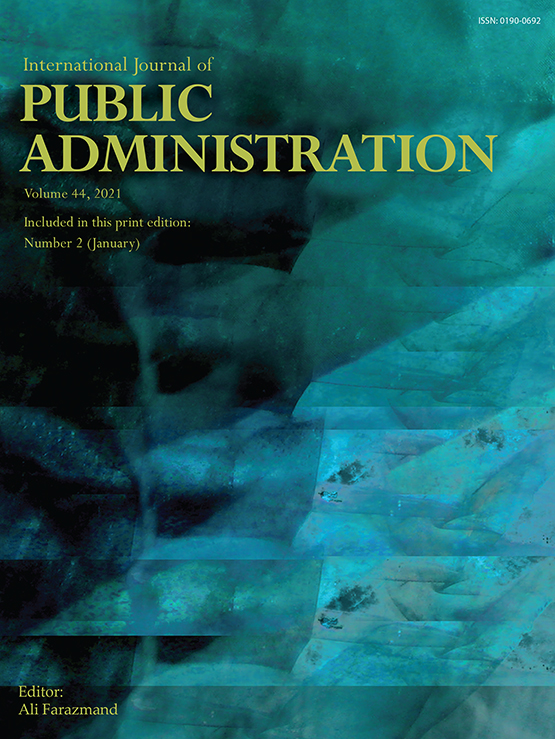 Full Article: Accountability And Public Interest In Government Institutions
