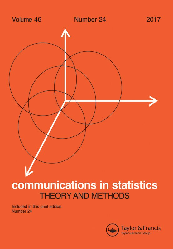 Communications in Statistics - Theory and Methods: Vol 46, No 24