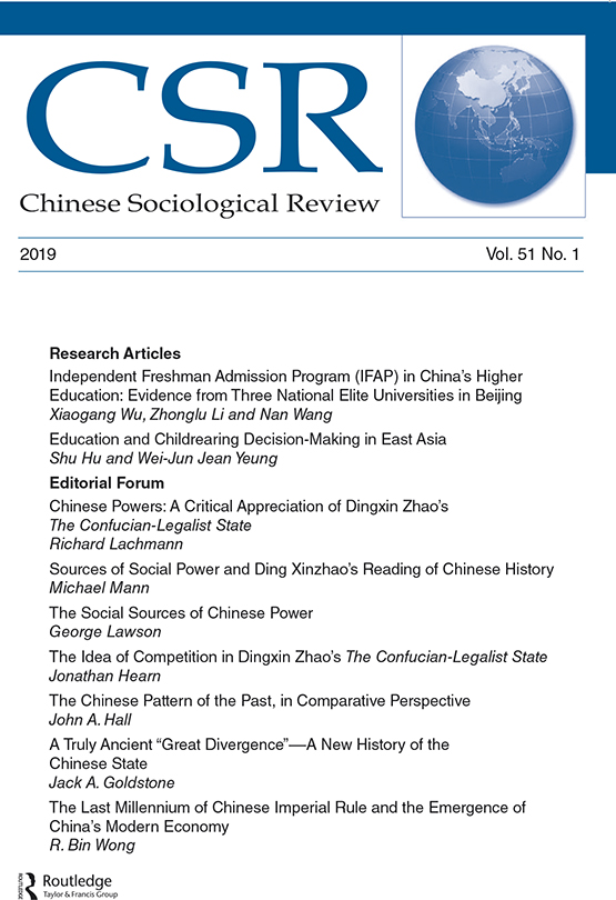 Image result for chinese sociological review