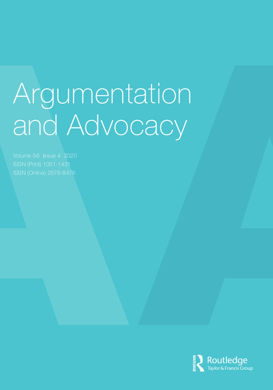 Argumentation and Advocacy cover