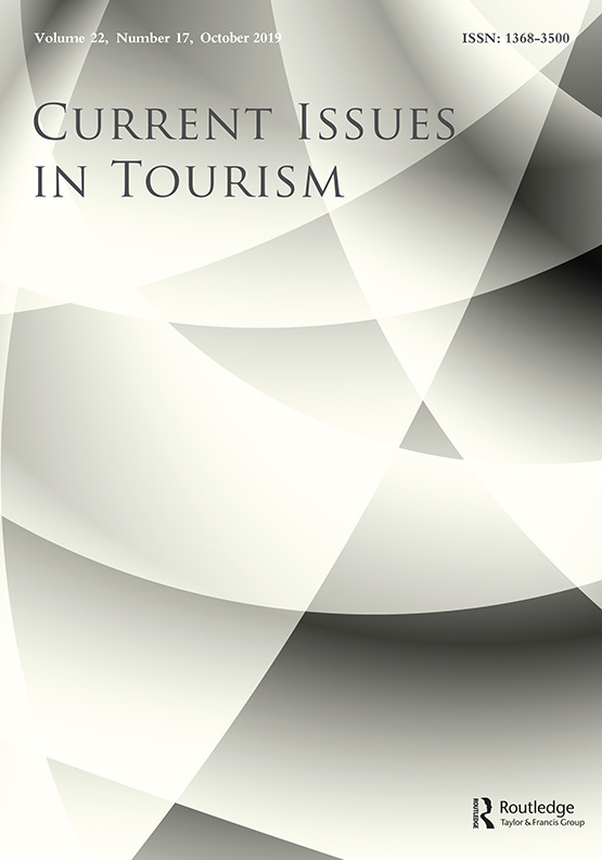 Current Issues in Tourism: Vol 22, No 17
