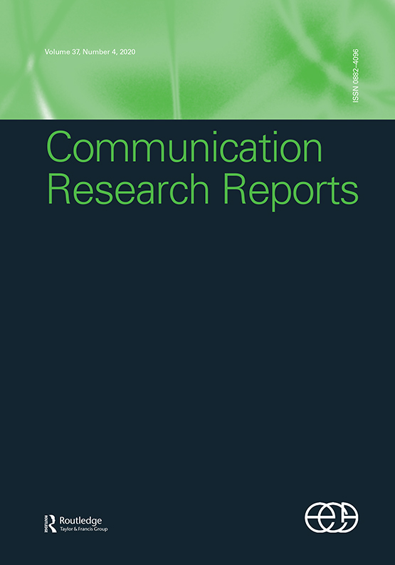Communication Research Reports