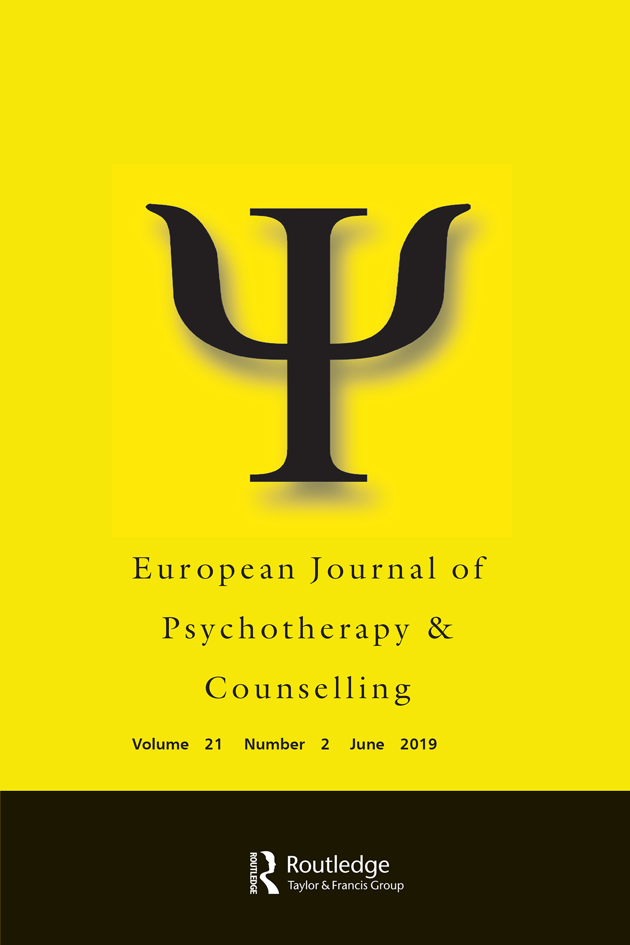 European Journal of Psychotherapy & Counselling: Vol 21, No 2
